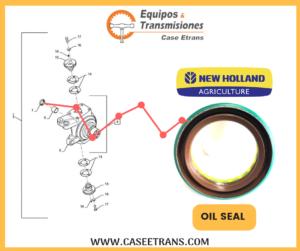 128647A1 NEW HOLLAND AGRÍCOLA OIL SEAL