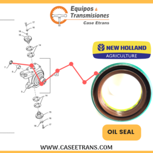 128647A1 NEW HOLLAND AGRÍCOLA OIL SEAL