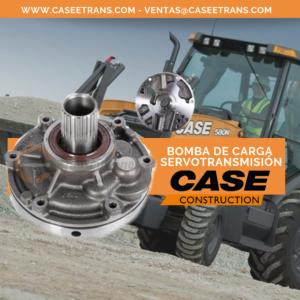 Bomba de carga- servotransmisión Case Construction