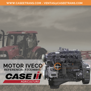 F2CE9684S Motor Iveco Case Agriculture
