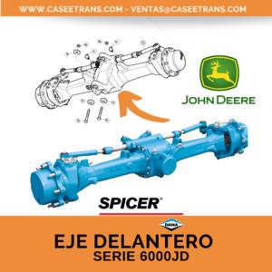 Serie 6000JD Eje Delantero- Dana Spicer- John Deere
